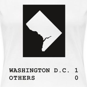 Washington DC wins - Women's Premium T-Shirt