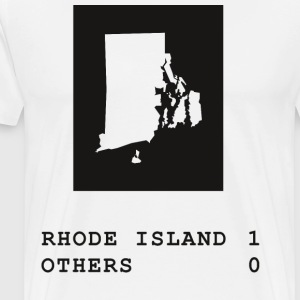 Rhode Island always wins - Men's Premium T-Shirt