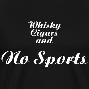 No sports_T-Shirt - Men's Premium T-Shirt