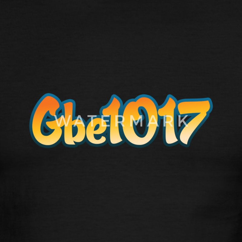Official GBE1017 Black Chaturbate logo Shirt - Men's Ringer T-Shirt