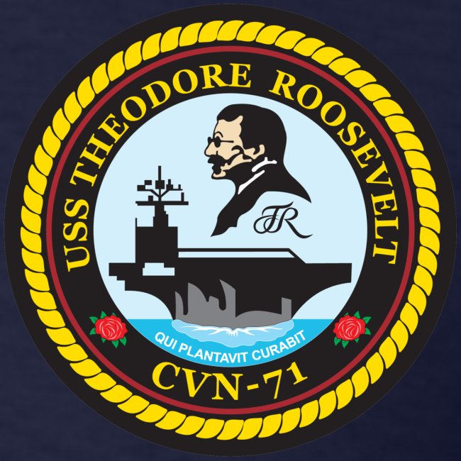 USS THEODORE ROOSEVELT 1995 CRUISE SHIRT