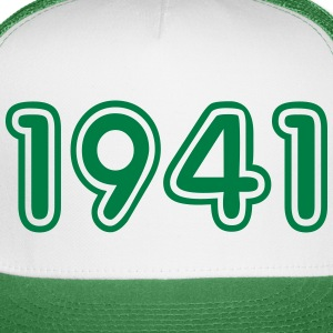 1941, Numbers, Year, Year Of Birth Sportswear - Trucker Cap