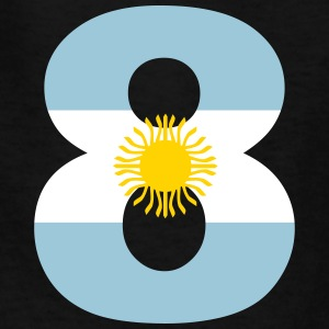Argentinia Numbers, 8, Jersey Numbers Argentinia Kids' Shirts - Kids' T-Shirt