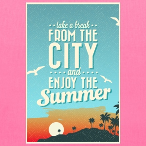 City Summer Break Bags & backpacks - Tote Bag