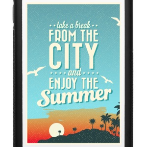 City Summer Break Phone & Tablet Cases - iPhone 6/6s Rubber Case