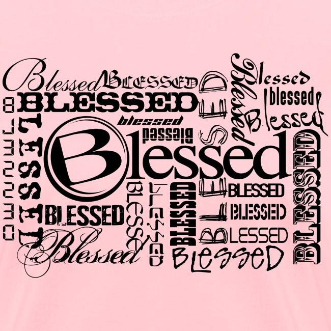 Womens Blessed Multi3 - Light