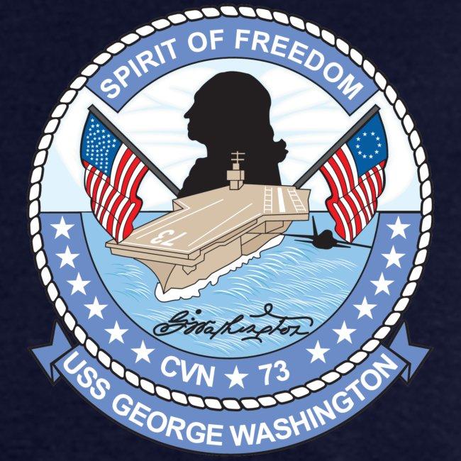USS GEORGE WASHINGTON 2008 CRUISE SHIRT - PARTNERSHIP OF THE AMERICAS