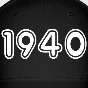 1940, Numbers, Year, Year Of Birth Sportswear - Baseball Cap