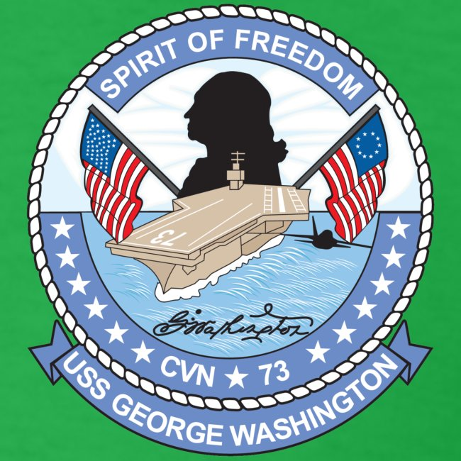 USS GEORGE WASHINGTON 2008 CRUISE SHIRT - ANNUALEX 08