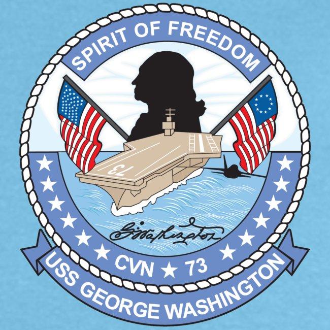 USS GEORGE WASHINGTON 2008 CRUISE SHIRT - ANNUALEX 08