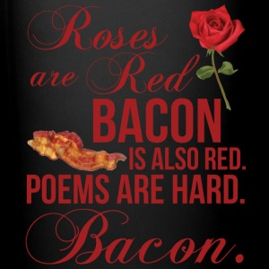 Roses Are Red... Bacon Is Also Red Mugs & Drinkware - Full Color Mug