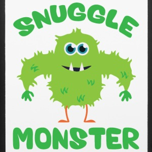 Snuggle Monster (Green) Phone & Tablet Cases - iPhone 6/6s Rubber Case