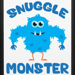 Snuggle Monster (Blue) Phone & Tablet Cases - iPhone 6/6s Rubber Case