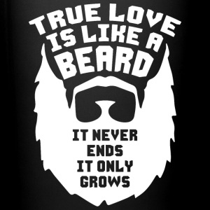 True Love Is Like A Beard Mugs & Drinkware - Full Color Mug