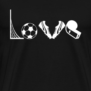 Love Soccer Shirt - Men's Premium T-Shirt