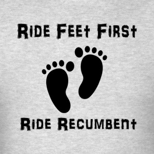Feet First (black) T-Shirts - Men's T-Shirt
