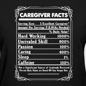 Caregiver Facts - Women's T-Shirt