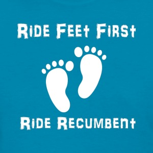 Feet First (white) T-Shirts - Women's T-Shirt