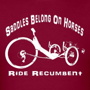Saddles (white) T-Shirts - Men's T-Shirt