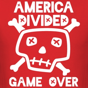 America Divided Game Over - Men's T-Shirt