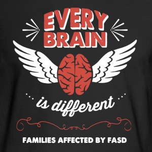 Brain Shirt - Men's Long Sleeve T-Shirt