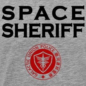 Space Sheriff Gavan Galactic Union Police - Men's Premium T-Shirt