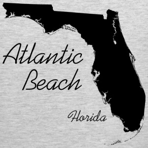 Atlantic Beach, Florida - FL, Black Sportswear - Men's Premium Tank