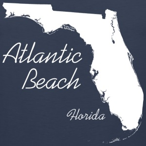Atlantic Beach, Florida - FL, White Sportswear - Men's Premium Tank