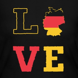Love Germany Shirt - Women's Long Sleeve Jersey T-Shirt