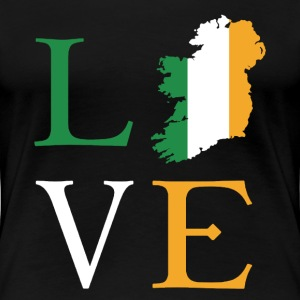 Love Ireland Shirt - Women's Premium T-Shirt