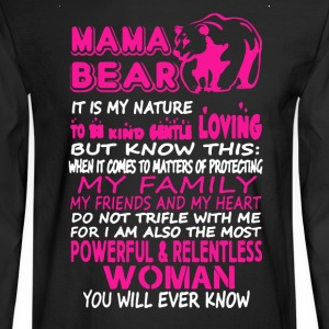 Mama Bear Shirt - Men's Long Sleeve T-Shirt