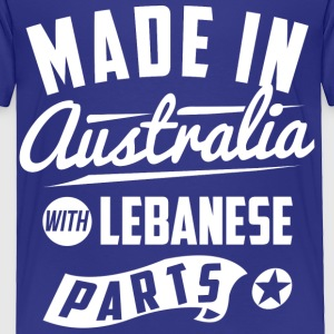 Australian Lebanese Baby & Toddler Shirts - Toddler Premium T-Shirt