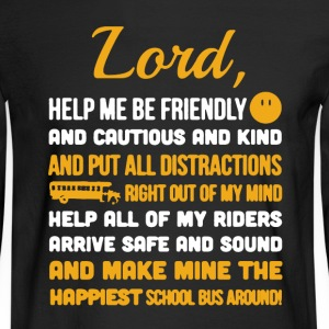 School Bus Driver Shirt - Men's Long Sleeve T-Shirt