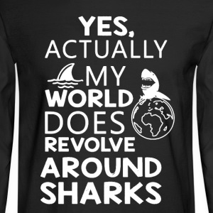 Sharks Shirt - Men's Long Sleeve T-Shirt