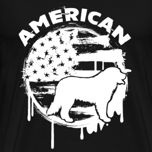 American Great Pyrenees - Men's Premium T-Shirt