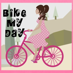 Bike my Day Bag - Tote Bag
