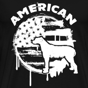 American Irish Wolfhound - Men's Premium T-Shirt