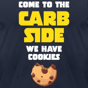 Come To The Carb Side - We Have Cookies T-Shirts - Men's T-Shirt by American Apparel