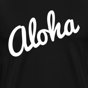 Aloha Hawaii Vacation Holiday Trip T-Shirts - Men's Premium T-Shirt