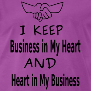 Business Heart T-Shirts - Men's Premium T-Shirt