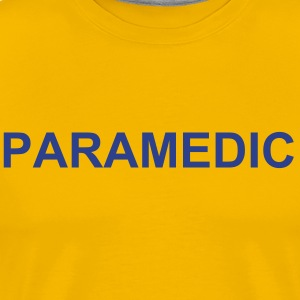 Paramedic Duty Shirt (Yellow) - Men's Premium T-Shirt