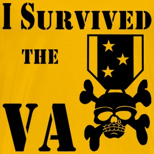 I Survived The VA Medal  - Men's Premium T-Shirt