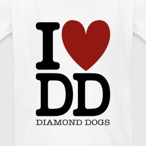 Metal Gear Solid - I Love Diamond Dogs - Kids' T-Shirt