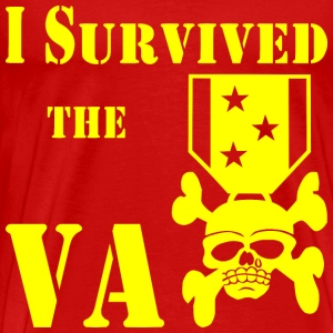 I Survived The VA Medal  T-Shirts - Men's Premium T-Shirt