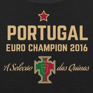 Portugal Soccer Football Euro 2016 Champion Shirts - Men's Premium Tank