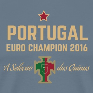 Portugal Soccer Football Euro 2016 Champions ID-1 - Men's Premium T-Shirt