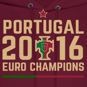 Portugal Soccer Football Euro 2016 Champions ID-1 - Men's Hoodie