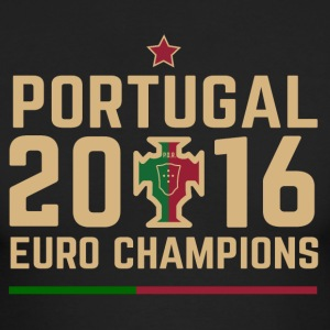 Portugal Soccer Football Euro 2016 Champions ID-1 - Men's Long Sleeve T-Shirt by Next Level