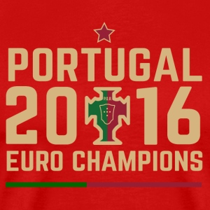 Portugal Soccer Football Euro 2016 Champions ID-2 - Men's Premium T-Shirt