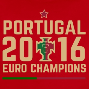 Portugal Soccer Football Euro 2016 Champions ID-2 - Short Sleeve Baby Bodysuit